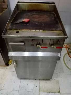 Hot plate gas