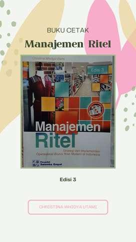 Buku cetak Manajemen Ritel