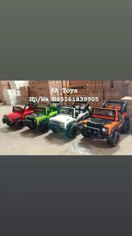 Mobil aki cas anak model jeep