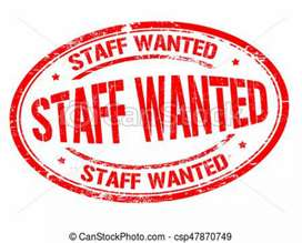 Wanted staff salesman &delivery boys