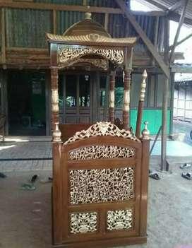 Mimbar masjid bagus