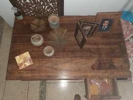 Hard sheesham wood centre table/coffee table