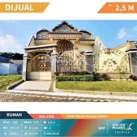 DIJUAL Rumah Tinggal klasik siap huni di Puri Palma Megah Araya - Mala