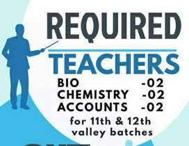 Need chemistry faculty  for iit and neet