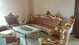 Sofa tamu jati. Ganesha duco
