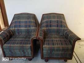 High Quality Teak 5 seater sofa set For Sale