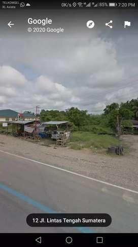 Dijual tanah di jalur dua Lintas Sumatera Bernai Sarolangun