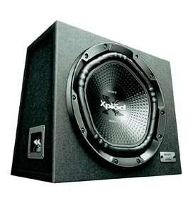 Amplifier & basstube 1800watt
