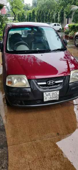 Hyundai Santro Xing 2008 Petrol Good Condition urgent sale