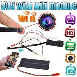 S06 IP Wireless Camera WIFI 1080p With Battery