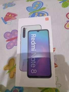 Xiaomi redmi note 8 64gb 4gb baru segel