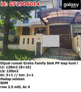 Disewakan rumah Graha Family Famili blok PP siap huni !