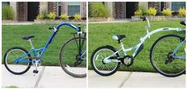 Imported Twin trail cycles available