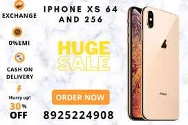 IPHONE XS 64GB   256GB - Exchange option   Emi   Cod