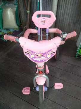 Sepeda anak ad pengamanx merk exsotic jrg dpkai