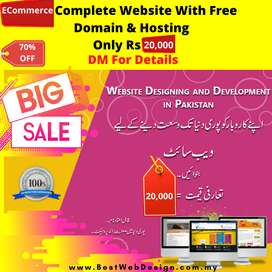 Get eCommerce website Only 20,000Rs With Free Domain & Ho