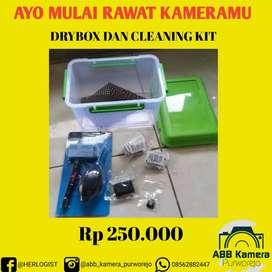 DRYBOX KAMERA DAN CLEANING KIT KAMERA