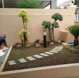 Tukang taman hijau minimalis/Cugenang