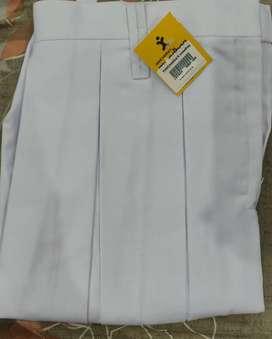 White skirt for school uniform