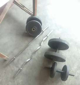Gym plates ,rods,straight
