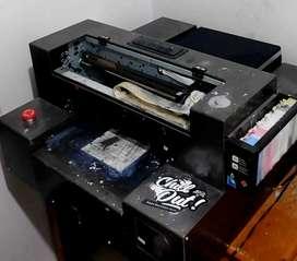 Mesin printer DTG super Riecat+Mesin Press+BonusHeatgun #BU Butuh Uang