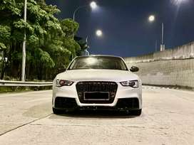 Audi A5 Sport Back TFSI All New Facelift Silver On Black 2014/2015