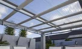 Kami bengkel las nerimah pembuatan kanopi atap solartap $$1712