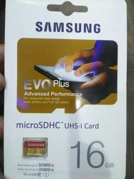 Samsung memory card 16 GB