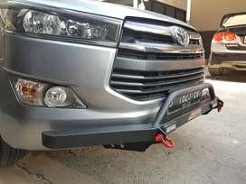 Tanduk Bumper Depan Innova Reborn - Rhino Bar LED