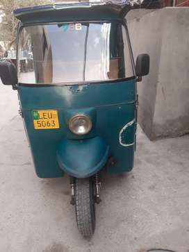 Rickshaw conditions is very good new engine & tyre installed