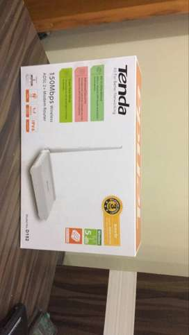 wifi adsl2+ router from tenda never used