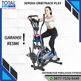 sepeda fitnes statis orbitrack plat 6 in 1 orbitrek total cod SURABAYA