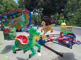 odong komedi putar lantai animal fiber wahana mainan Anak DOV