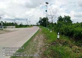 Dijual Tanah Strategis Tepi Jln Tanjung Api Api KM 13 – 14 Palembang