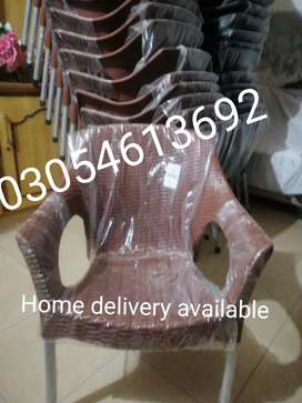 Plastic chairs new grace branded 0310/4783057 pure material