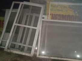 U PVC window sliding door