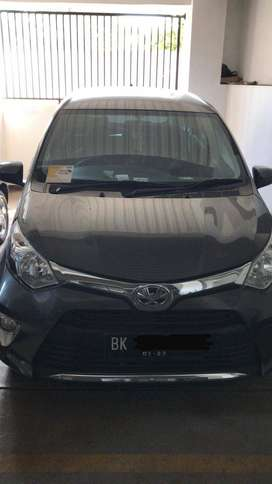 Jual Toyota Calya G Tahun 2018 Metik Warna Abu