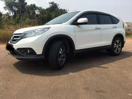 Honda CRV 2.4 2013 AT white orchid pearl
