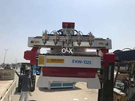 CNC Wood Router with 5 spindles for Chinioti Work