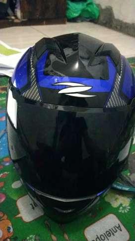 Helm Zeus biru keren