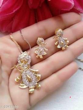Gud quality brass krishna pandent