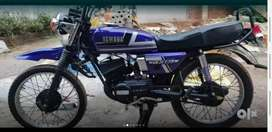 YAMAHA RX 135 G (Rc Expired).Full Neat Custom painted.