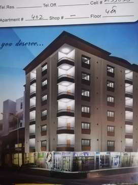 Newly constructed flat available for rent in kaneez fatima society bl1