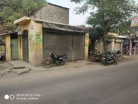 Commercial shop on road