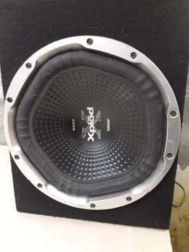 Car woofer and emp 2 channel