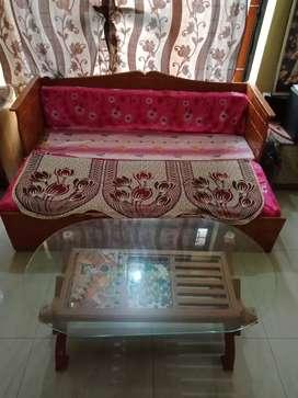 Sofa cum bed Dewan type.