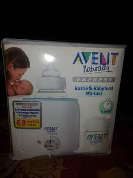 Avent naturally bottle and babyfood warmer