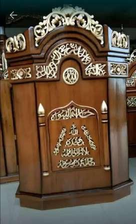 mimbar masjid minimalis 04