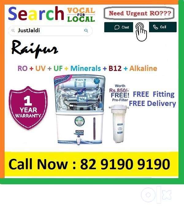 Raipur1 AquaGrand RO Water Purifier Water Filter AC dth bed car AquaGr
