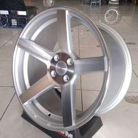 velg mobil racing ring 17x7/9 pcd 4x100 HSR